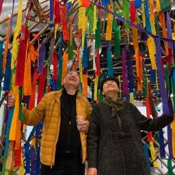 """Dream Yurt"" at 2020 Womxn's March Denver"