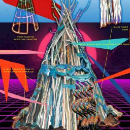 MONGOVOO Temple @ Meow Wolf Denver Museum, Opening Fall 2021